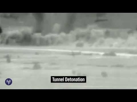 IDF Detonates Large Tunnel in Gaza