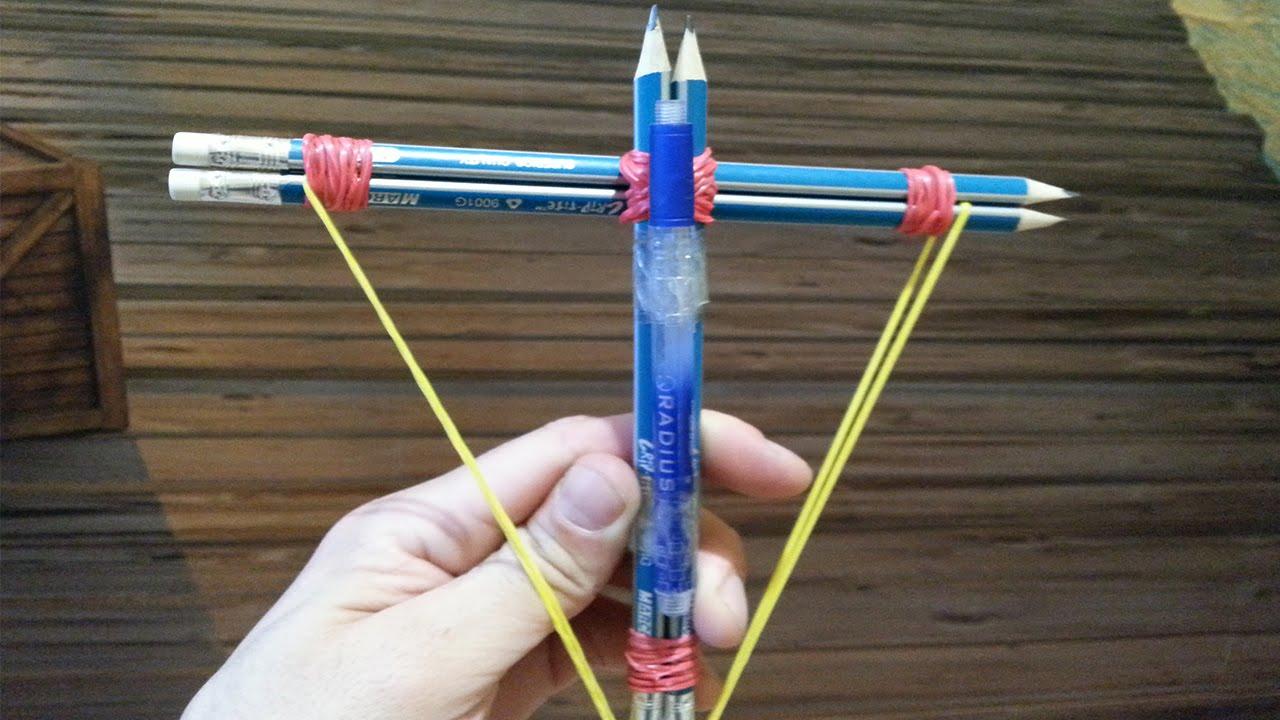 Как сделать из ручки и резинки 101