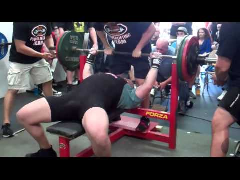 Jake Welch 1713 Raw Total @ 267