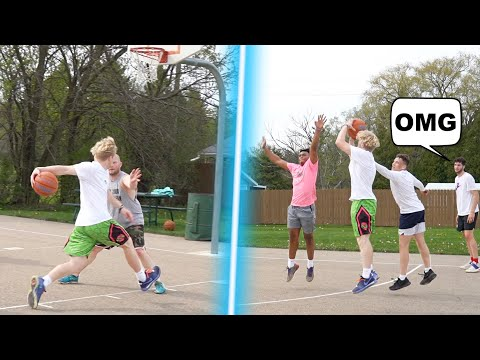 I Hit A Nasty Game Winner! 5v5 Basketball At The Park!