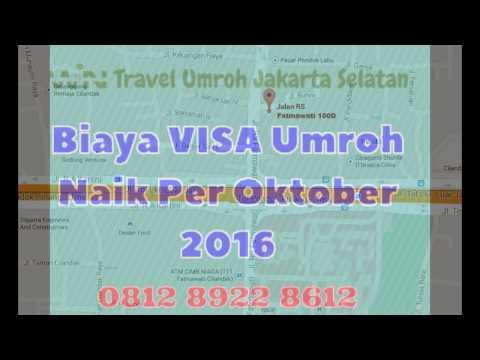 Gambar biaya visa umroh 2015