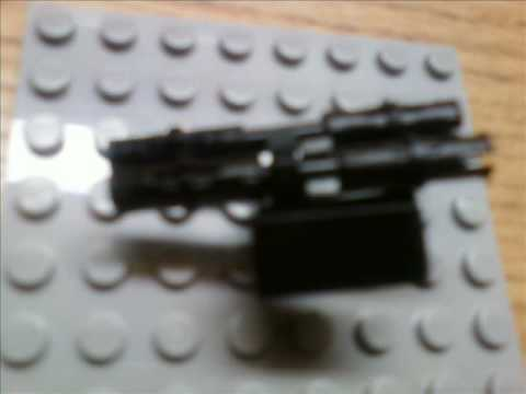 How to build lego Halo 3 odst guns and Halo 3 guns Part 1