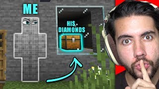 How Many Chests Can I Steal Before Getting Caught? | Minecraft