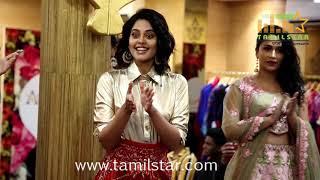 "Actress Bindhu Madhavi Launced ""AQUAAB BRIDAL X WNW"""