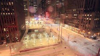 ニューヨークを襲った記録的な猛吹雪のタイムラプス映像
