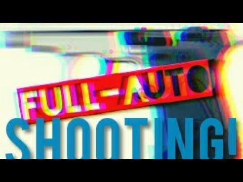 Full Auto 9mm Zoraki m914  blank firing gun