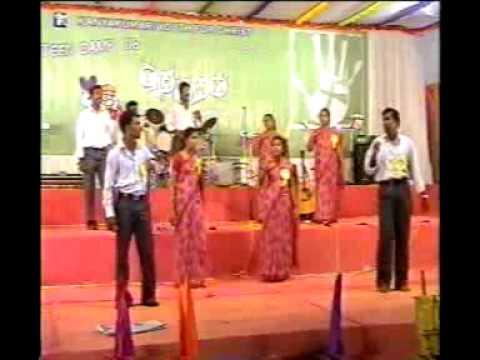 Tamil Christian choreography- Manamae manamae (KKYFC Teen Camp' 08).flv