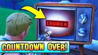 COUNTDOWN OVER!! READY TO LAUNCH! Fortnite SEASON 5 Coming!
