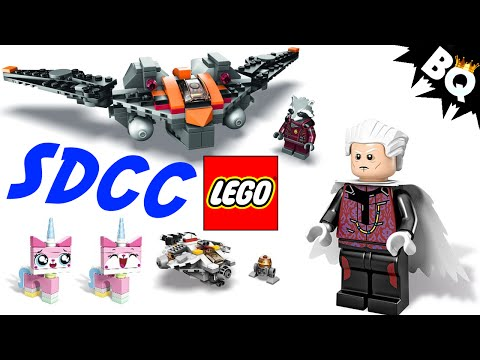 San Diego Comic Con SDCC LEGO Exclusives Revealed