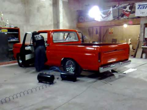 Ford Ranger Tuning >> suspension neumatica en ford f100 - YouTube