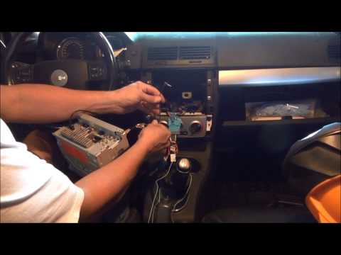 cobalt stereo install video