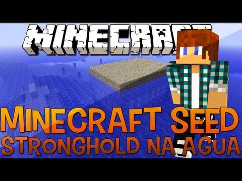 Minecraft Seed 1.5.1 | Stronghold na Água