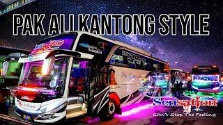 INILAH BUS BALAPNYA PAK HAJI Trip Po.Haryanto 023 SENSATION Kudus-Pulogebang Part 1