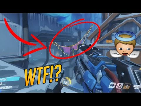 Overwatch Funny & Epic Moments - GIANT MERCY WINGS?! - Highlights Montage 164