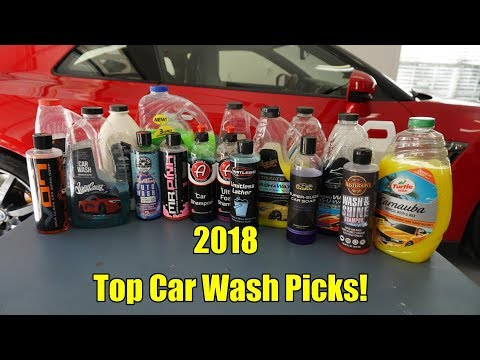 2018 Top Car Wash Picks!
