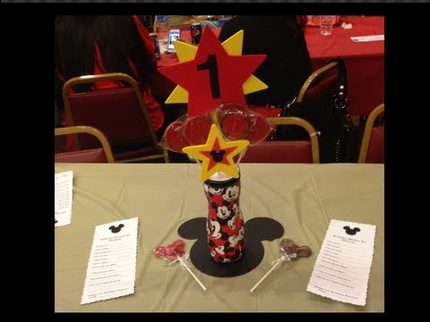 MICKEY MOUSE CENTER PIECES!