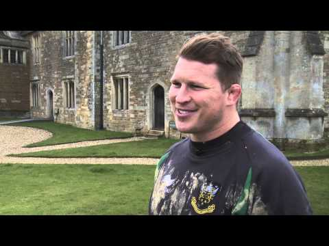 Northampton Saints get ready for Leicester with Landrover | Rugby Video - Northampton Saints get rea