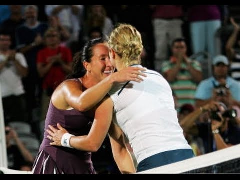 Kim Clijsters vs Jelena Jankovic 2007 Sydney Highlights