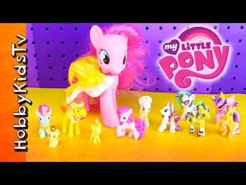 My Little Pony [Box Open] [Toy Review] [Cake Family] [Hasbro] [MLP]