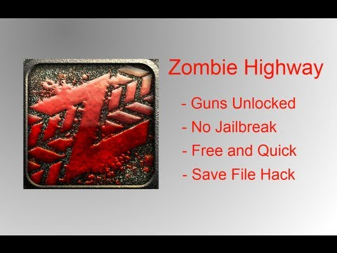 How To Hack Zombie Highway iPhone/iPod/iPad No Jailbreak