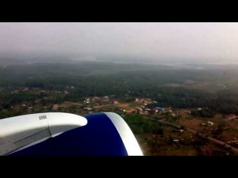 Flight takeoff from from Freetown , Sierra Leone