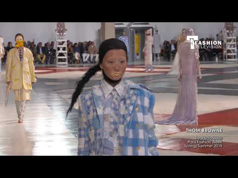 THOM BROWNE Ready-to-Wear Paris Fashion Week Spring/Summer 2019