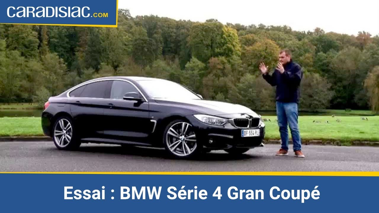 essai bmw s rie 4 gran coup youtube. Black Bedroom Furniture Sets. Home Design Ideas