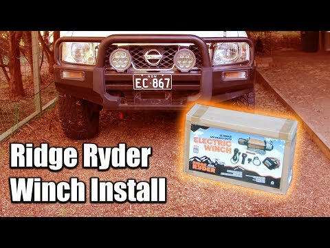 How to Install a Ridge Ryder Winch