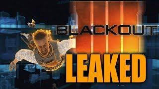 NEW BLACK OPS 4 BLACKOUT LEAK! (Call of Duty Battle Royale)
