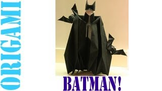 Origami Daily - 046: Batman - Tcgames [hd]
