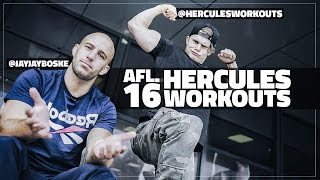 TRAINEN MET SHREDDED HERCULES & JAYJAY BOSKE || #DAY1 AFL. #16