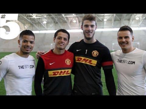 HERNANDEZ v DE GEA - 1v1 Challenge | #5 Players Lounge
