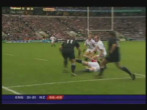 England vs All Blacks 2002 Test.
