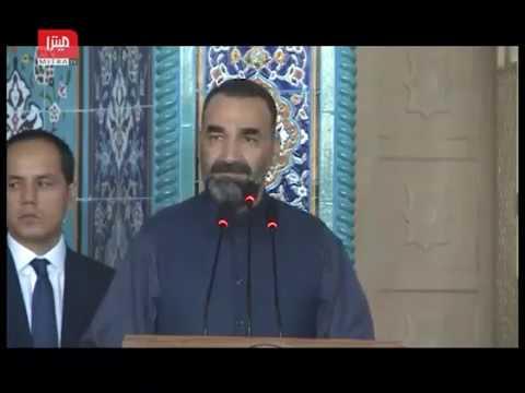 سخنرانى كامل عطا محمد نور، والى بلخ در مراسم اداى نماز عيد فطر ١٣٩٦ در مزارشريف