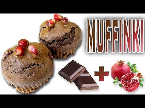 Zamaskowane Muffinki z granatem w 15 minut! Pyszny przepis na szybką przekąskę.