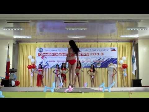 Miss LSPU - SCC 2013 Swimwear