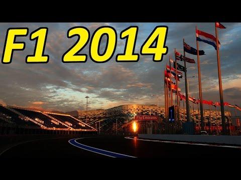 F1 2014 Gameplay: Sochi, Russia First Race!