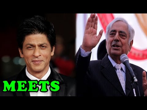 Shah Rukh Khan meets Jammu and Kashmir Chief Minister Mufti Mohammad Sayeed | Bollywood News