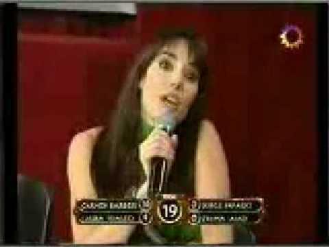 laura fidalgo como jurado discute con florencia de la v