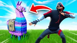 LOOT LLAMA *ONLY* Challenge In Fortnite!
