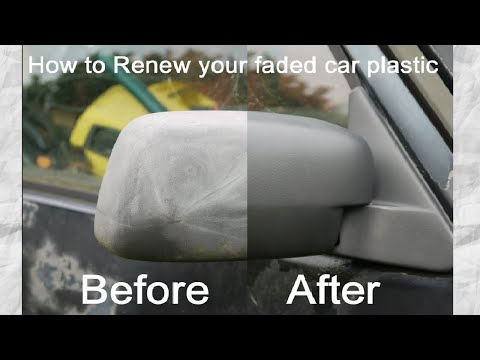 Top Hack : How to Restore Faded Plastic Bumpers and Trims on a Car