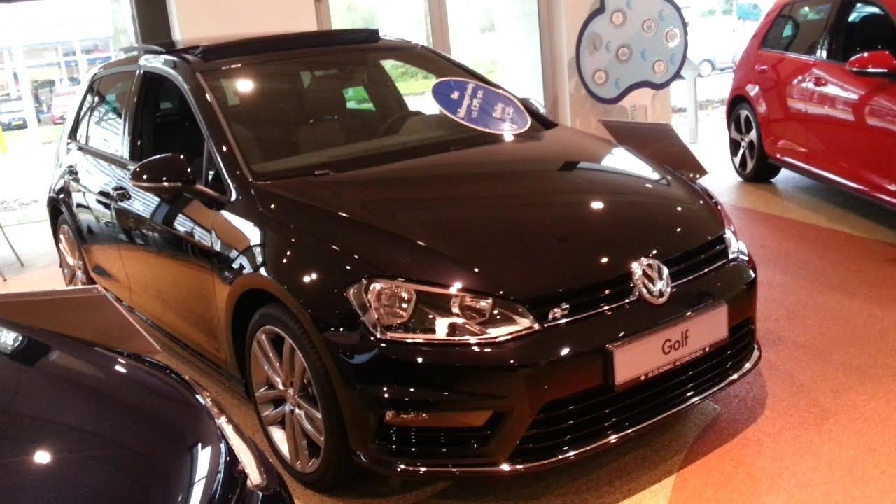 volkswagen golf 7 r line 2015 in depth review interior exterior youtube. Black Bedroom Furniture Sets. Home Design Ideas