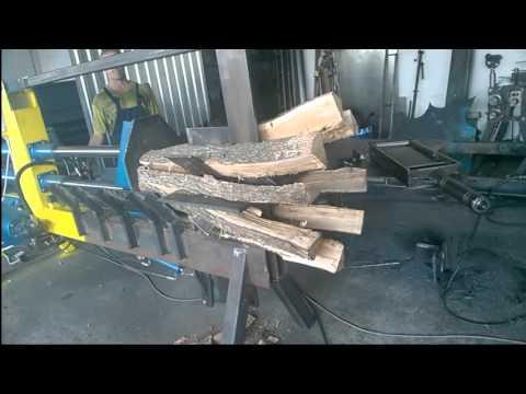 Hidraulicni cepac za metarska drva