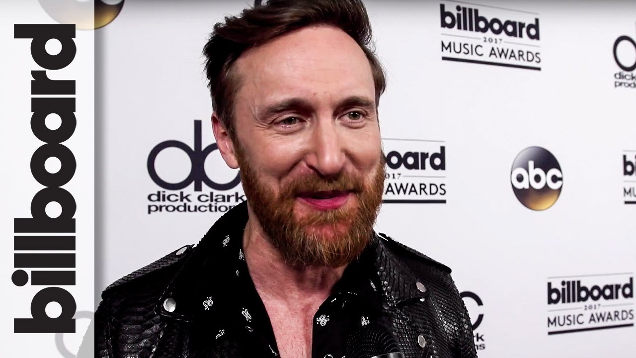 David Guetta Backstage After Opening The Show With Nicki