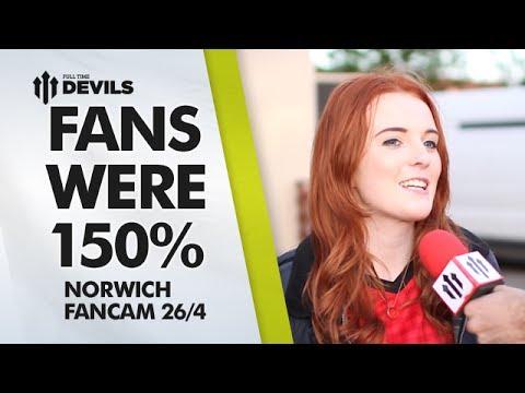 Fans Were 150% | Manchester United 4-0 Norwich City | FANCAM