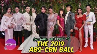 Love Teams & Couples at the 2019 ABS-CBN Ball | Hotspot 2019 Episode 1706