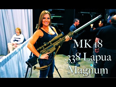 Top SNIPER RIFLE? .338 LAPUA MAGNUM. Sawman Signature Series. SWORD International SHOT SHOW 2015