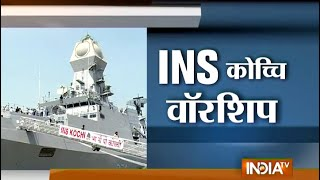 Indian Navy to Get INS Kochi, Largest India-made Warship Tomorrow - India TV