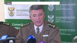 Correctional service briefing on 'strip show' on prison grounds