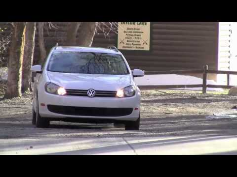 VEHIX 2010 VW Jetta Sportwagen TDI review Video